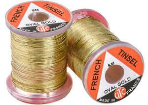Bild på UTC French Tinsel Oval Gold - Small