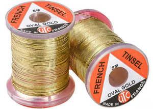 Bild på UTC French Tinsel Oval Gold - Medium