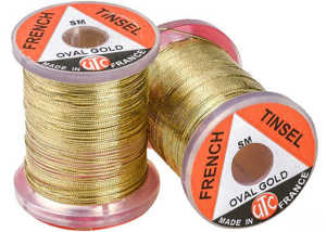 Bild på UTC French Tinsel Oval Gold - Large