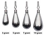 Bild på Berkley URBN Tungsten Dropshot Weight (3 pack)