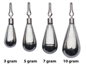 Bild på Berkley URBN Tungsten Dropshot Weight (3 pack) 10 gram