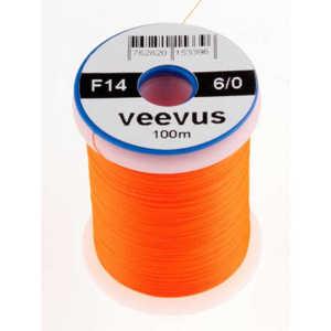 Bild på Veevus Bindtråd 10/0 Fluo Orange