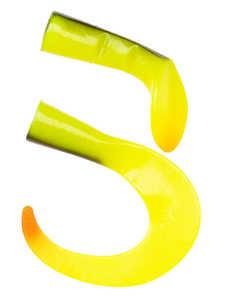 Bild på Svartzonker McHybrid Spare Tails Chartreuse