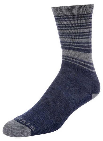 Bild på Simms Merino Lightweight Hiker Sock Admiral Blue
