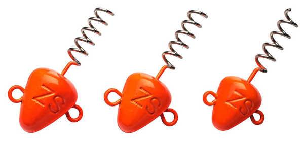 Bild på Svartzonker Screw In Head Fluo Orange (3 pack)
