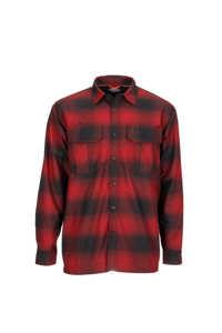 Bild på Simms ColdWeather Shirt (Auburn Red Buffalo Blur Plaid) Small