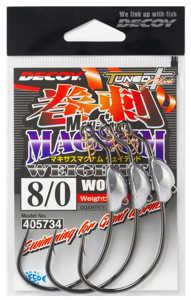 Bild på Decoy Makisasu Magnum Weighted Worm130M (2-3 pack) #10/0 - 14 gram (2 pack)