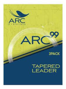Bild på ARC 99 Tapered Leader 12ft (3 pack) 4X / 0,18mm
