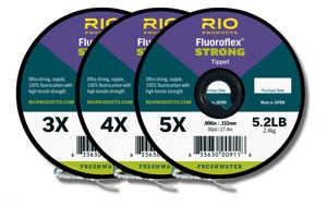 Bild på Rio Fluoroflex Strong Tippet (3 pack) 4X-5X-6X