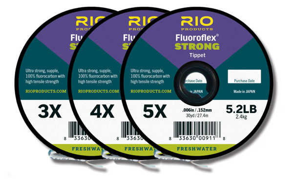 Bild på Rio Fluoroflex Strong Tippet (3 pack)