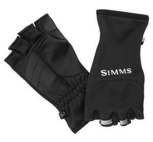 Bild på Simms Freestone Half Finger Black Small