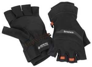 Bild på Simms GORE-TEX Infinium Half Finger Glove Black XS