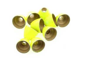 Bild på Flyco Coneheads Fluo Yellow Medium