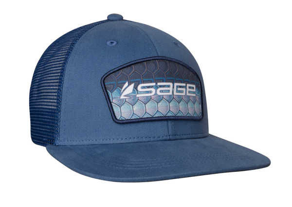 Bild på Sage Patch Trucker Tarpon Blue