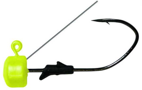 Bild på Eagle Claw Pro-V Finesse Jig Weedless Chartreuse #1/0 3,5g (5 pack)