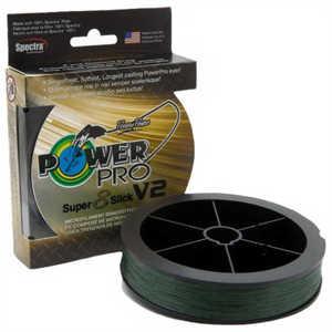 Bild på Power Pro Super 8 Slick V2 Moss Green 275m 0,13mm / 8kg