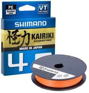 Bild på Shimano Kairiki 4 Hi-Vis Orange 150m 0,315mm / 29,9kg