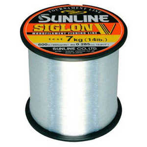 Bild på Sunline Siglon V Monofilament Clear Bulk 2000m 0,370mm / 10kg