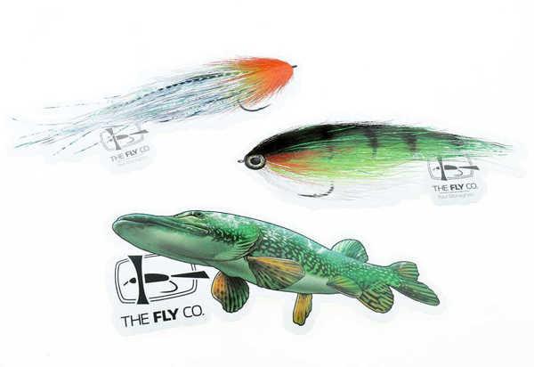 Bild på Flyco Sticker Pack Pike