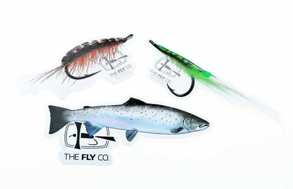 Bild på Flyco Sticker Pack Seatrout