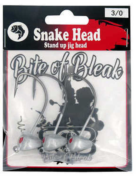 Bild på Bite of Bleak Snakehead Standup Jighead #3/0 7g (3 pack)