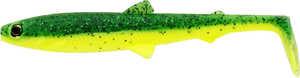 Bild på Westin BullTeez Shadtail 9,5cm Fireflash