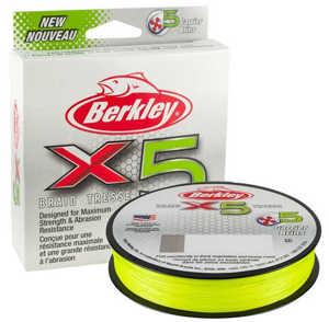 Bild på Berkley X5 Flame Green 150m 0,20mm / 20,6kg
