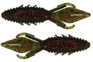 Bild på X Zone Lures Adrenaline Bug Jr 9cm (8 pack) Watermelon Red Flake