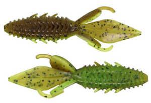Bild på X Zone Lures Adrenaline Bug Jr 9cm (8 pack) Summer Craw