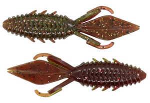 Bild på X Zone Lures Adrenaline Bug Jr 9cm (8 pack) Border Craw