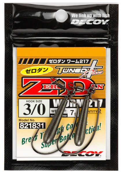 Bild på Decoy Zero-Dan Worm217 #3/0 7g (2 pack)