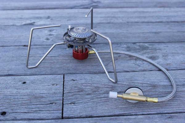 Bild på Portabel Gasbrännare Stor