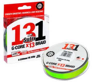 Bild på Sufix 131 G-Core X13 Neon Chartreuse 150m 0,165mm / 9,1kg