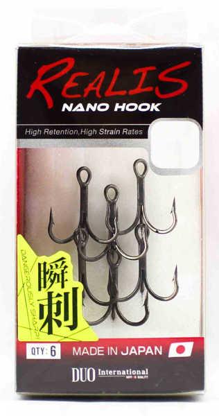 Bild på Duo Realis Nano Treble Hook (6 pack)