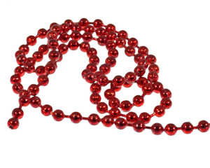 Bild på A.Jensen Bead Chain Eyes Special Colors Metallic Red (Small)