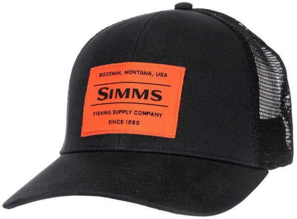 Bild på Simms Original Patch Trucker Black