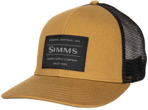 Bild på Simms Original Patch Trucker Dark Bronze