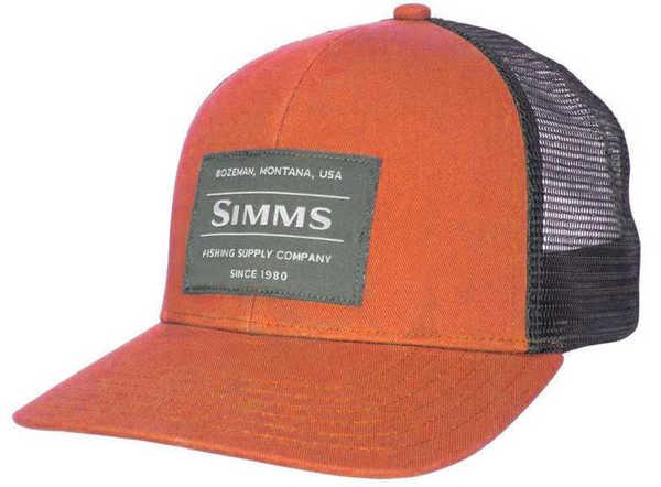 Bild på Simms Original Patch Trucker Simms Orange
