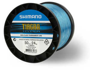 Bild på Shimano Tiagra Hyper IGFA Clear Blue 1000m 0,68mm / 24kg