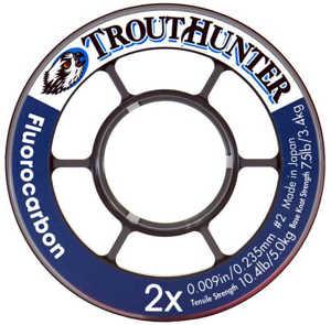 Bild på Trout Hunter Fluorocarbon Tippet 9X 0,083mm / 0,7kg (50m)