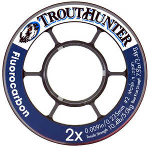 Bild på Trout Hunter Fluorocarbon Tippet 6X 0,128mm / 1,7kg (50m)