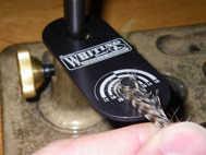 Bild på Whiting Hackle Gauge Slate