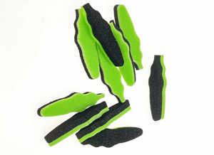 Bild på Foam Beetle Body Chartreuse/Black