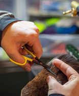 Bild på Loon Ergo Hair Scissor Black