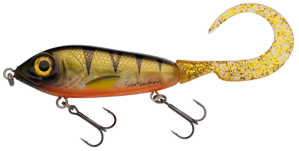 Bild på Svartzonker McMy Tail 17cm 50g Yellowfin Perch